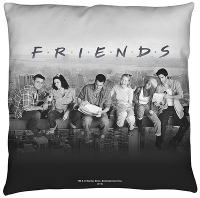 Friends - Break Time Throw Pillow Throw Pillow