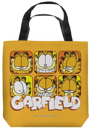 Garfield - Faces Tote Bag Tote Bag