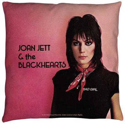 Joan Jett - Crimson And Clover Throw Pillow Throw Pillow