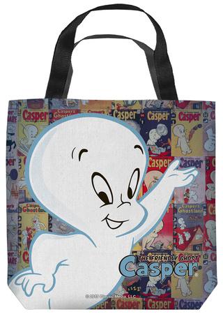 Casper The Friendly Ghost - Casper And Covers Tote Bag Tote Bag