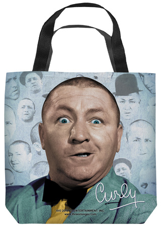 Three Stooges - Curly Heads Tote Bag Tote Bag