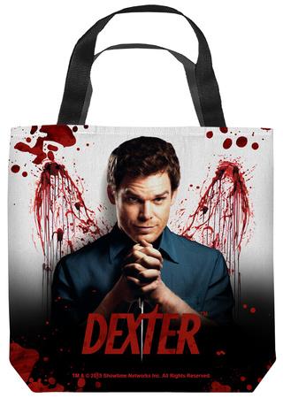 Dexter - Blood Never Lies Tote Bag Tote Bag