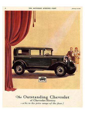 GM Outstanding Chevrolet Print