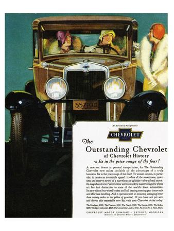 GM Outstanding Chevrolet Prints
