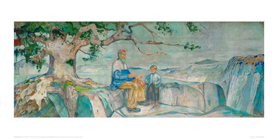 The Story, 1911 Giclee Print by Edvard Munch