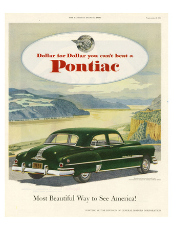 GM Pontiac-Most Beautiful Way Posters