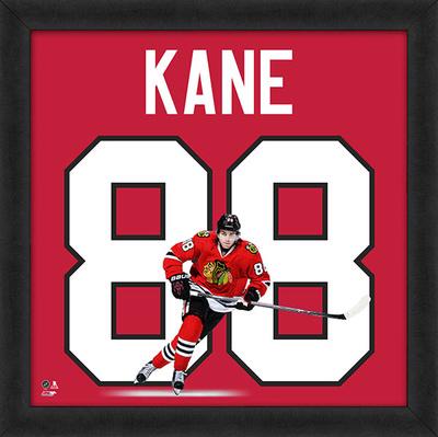 Patrick Kane, Blackhawks Framed photographic representation of the player's jersey Framed Memorabilia