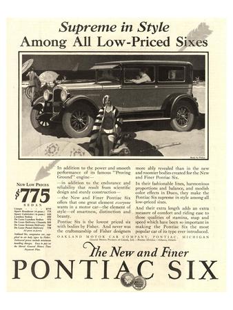 GM Pontiac - Supreme in Style Prints