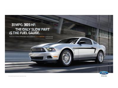 Mustang 2011 - 31Mpg - 305Hp Prints