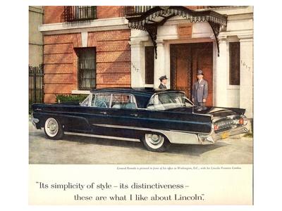 Lincoln 1959 Distinctiveness Posters