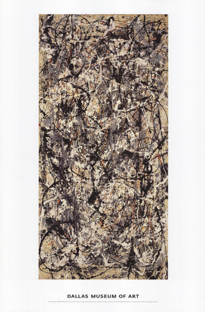 Cathedral Posters by Jackson Pollock