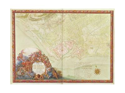 Plan of Le Havre, from the 'Atlas Louis XIV', 1683-88 Giclee Print by Sebastien Le Prestre de Vauban
