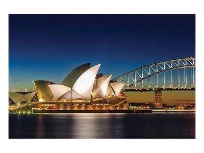 Sydney Opera House & Bridge Art