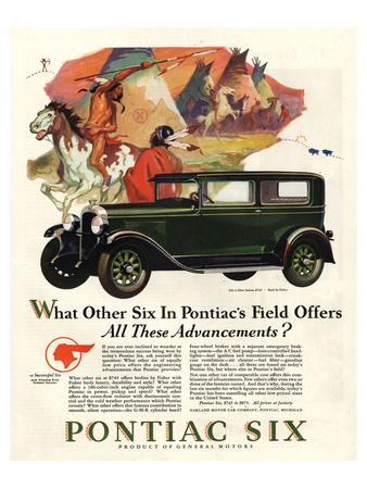 Pontiac-All These Advancements Prints