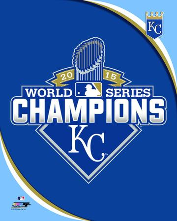Kansas City Royals 2015 World Series Champions Logo Photo