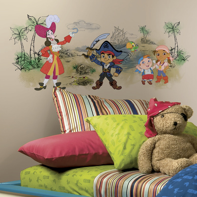 Captain Jake & the Never Land Pirates Scene Graphic Wall Decal
