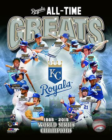 Kansas City Royals All Time Greats Composite Photo
