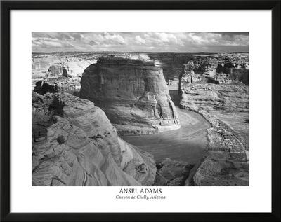 Ansel Adams Canyon De Chelly Landscape Photo Art Poster Print Posters
