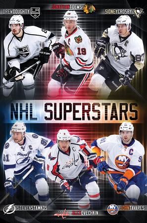 NHL- Superstars Poster