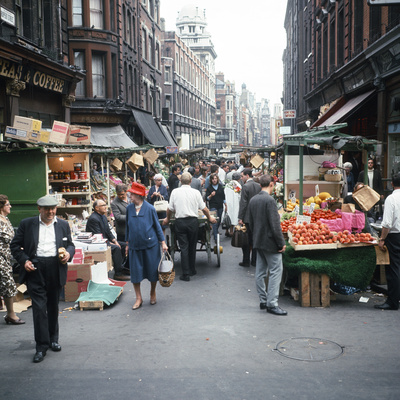 Rupert Street in Soho, London 1966 Photographic Print by Malcolm MacNeill