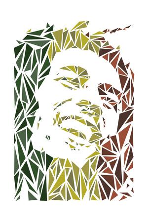 Bob Marley Plakater af Cristian Mielu