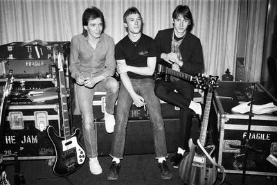 The Jam, Music Group, 22nd April 1980 Fotoprint av Kent Gavin