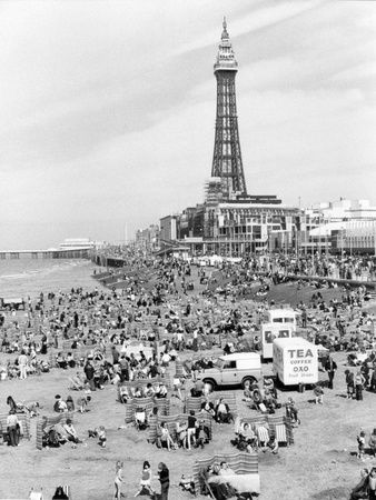 Blackpool tower, 1894 Photographic Print by  Unknown