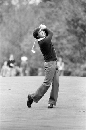 Golf 1983 Fotografisk tryk af Peter Stone