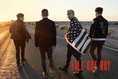 Fall Out Boy- Desert Walk Poster
