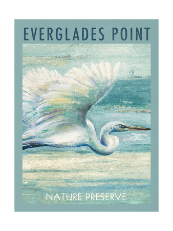 Everglades Poster I Poster by Patricia Pinto