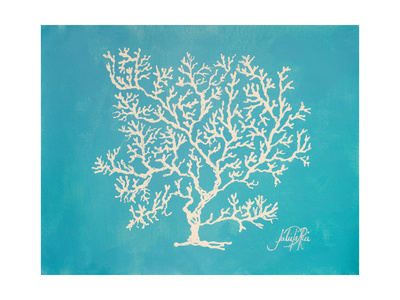 White Coral II Posters by Julie DeRice