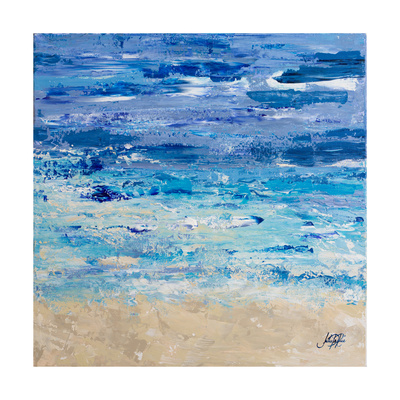 Oceans in Abstract Posters by Julie DeRice