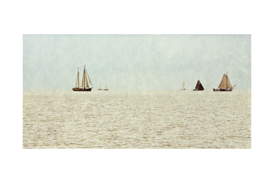 Sail Boats Prints by Kathy Mansfield