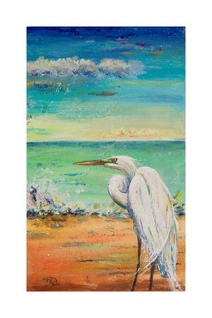Great Egret II Posters by Patricia Pinto