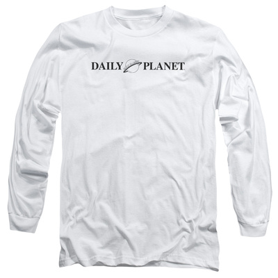 Long Sleeve: Superman- Daily Planet Logo Long Sleeves