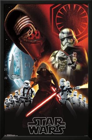 Star Wars the Force Awakens- Dark Side Poster