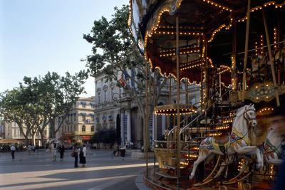 Avignon, Square - Provence, France Photographic Print by Achim Bednorz
