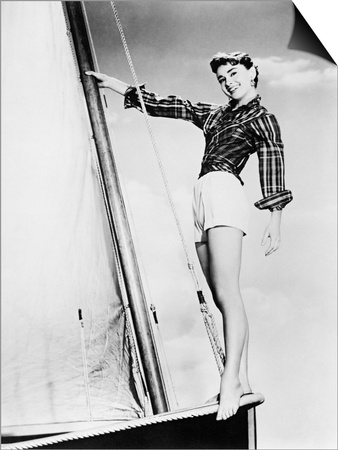 Sabrina, 1954 Art