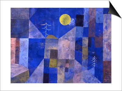 Moonshine, 1919 Magnetic Art Baskı