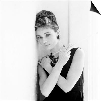 Breakfast at Tiffany'S, Audrey Hepburn, 1961 Prints