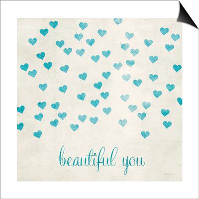 Beautiful You in Blue Prints by Morgan Yamada