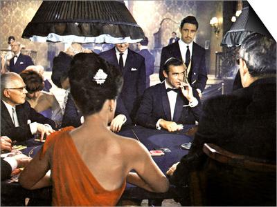 James Bond 007 Contre Docteur No Dr. No De Terenceyoung Avec Sean Connery 1962 Magnetic Art Baskı