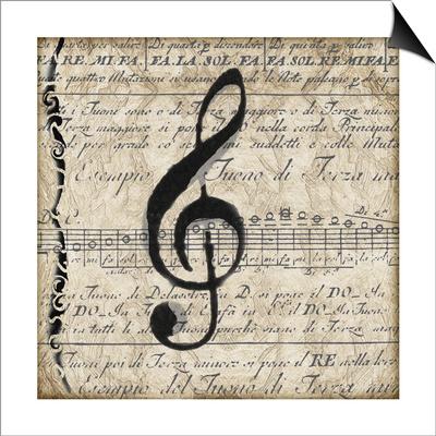 Musical II Print by Lisa Wolk