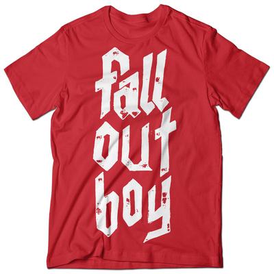 Fallout Boy- Metal Stack T-shirts