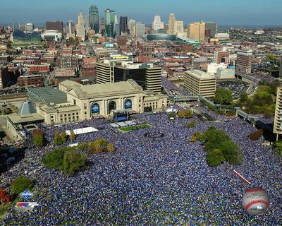 Kansas City Royals 2015 World Series Champions Parade Photo
