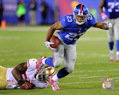 Rashad Jennings 2015 Action Photo