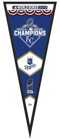 Kansas City Royals 2015 World Series Championship Pennant Framed Memorabilia