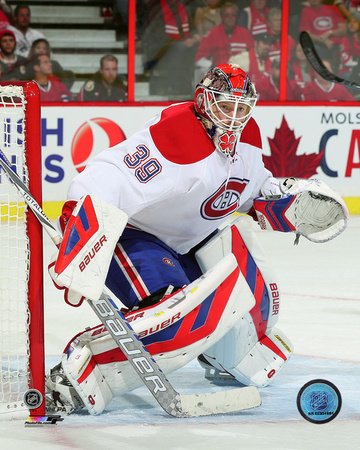 Mike Condon 2015-16 Action Photo