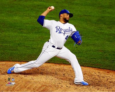 Kelvin Herrera Game 1 of the 2015 World Series Photo