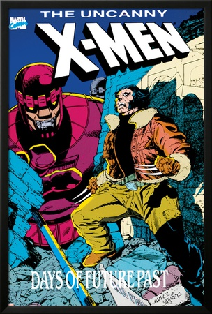 X-Men : Days Of Future Past Cove Cover: Wolverine and Sentinel Poster by Jackson Guice